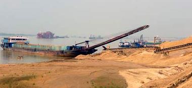 河砂开采、批发、零售